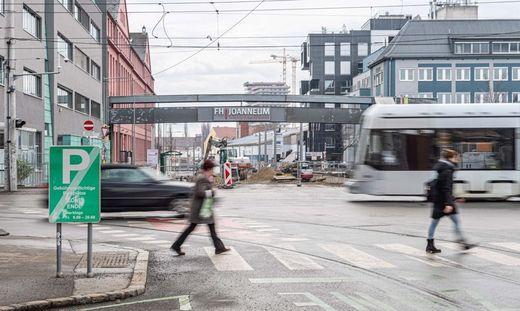 Bauarbeiten an der Kreuzung Alte Poststraße/Eggenberger Allee starten mit Mai
