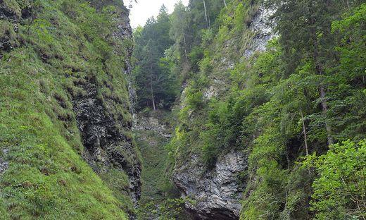 Touristenattraktion Liechtensteinklamm