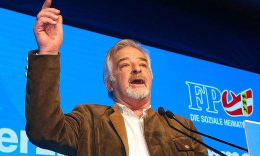 Manfred Tisal trat schon bei FPÖ-Veranstaltungen auf