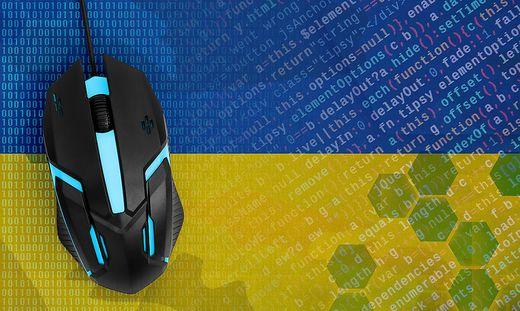 Digitale Kompetenzen für die Ukraine: Mehr Infos online unter: dcomfra.vdu.lt