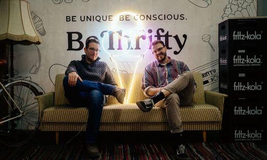 Die Gründer von BeThrifty: Bori Radmanovic und Christian Mayr