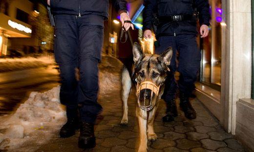 Polizisten entdeckten die schlafenden Diebe