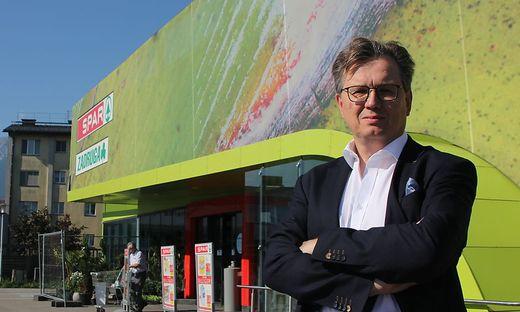 Bernhard Reiter sanierte und kaufte mit 13 Privaten fünf Zadrugamärkte in Südkärnten