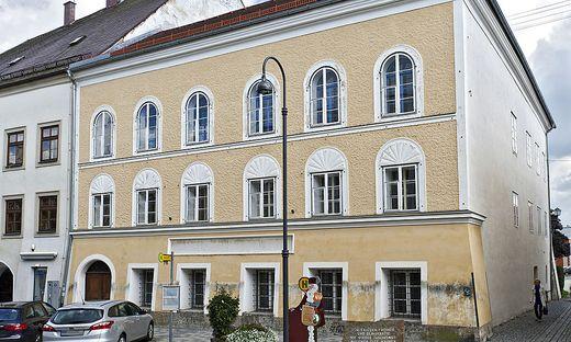 Hitlers Geburtsthaus in Braunau