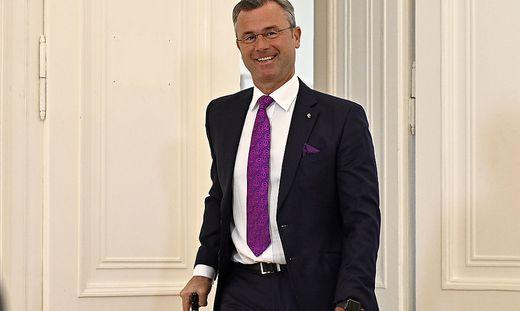 Infrastrukturminister Norbert Hofer(FPÖ) will noch immer Bundespräsident werden