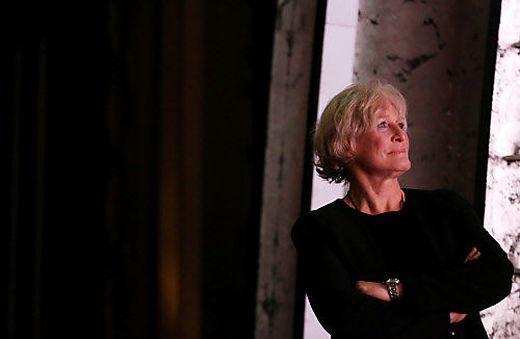 Porträt Power Frau Und Bühnenstar Im Gewissen Alter Glenn Close