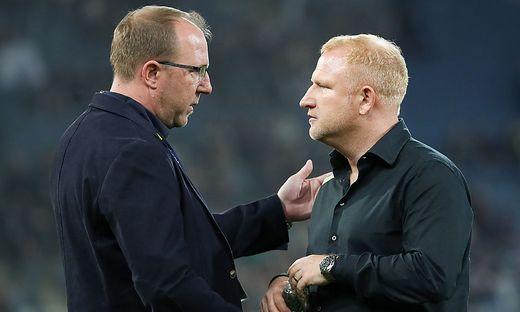 Günter Kreissl und Heiko Vogel
