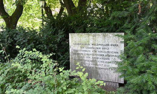 Im Wiener Waldmüllerpark wurde am Dienstag ein totes Baby entdeckt