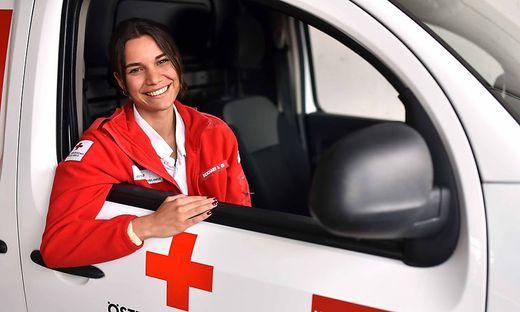 Anna Eckhart engagiert sich seit zweieinhalb Jahren beim Roten Kreuz