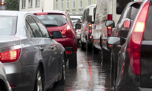 Vereinzelt brauchen Autolenker in Graz nun doch Geduld
