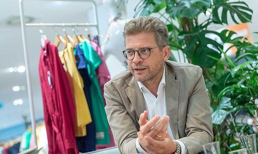 Martin Wäg, in fünfter Generation Vorstandschef von Kastner & Öhler