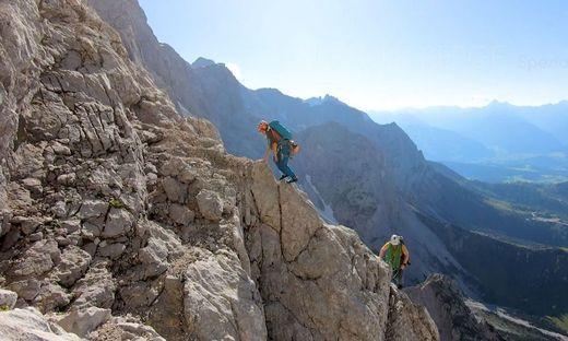 Marlies Czerny, die auf allen 4000ern in den Alpen stand, und ihr Lebensgefährte Andreas Lattner