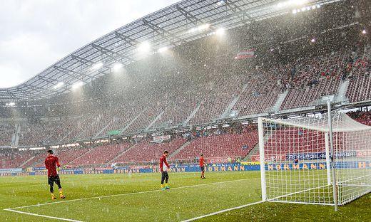 Klagenfurt Wer Sich Vom Wald Im Stadion Gepflanzt Fuhlt