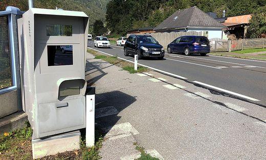 Von diesem Radar zwischen Kärnten und der Steiermark soll die Zivilstreife geblitzt worden sein