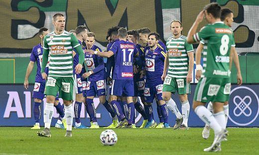 FUSSBALL TIPICO BUNDESLIGA / GRUNDDURCHGANG: SK RAPID WIEN - FK AUSTRIA WIEN