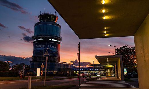 Der Grazer Flughafen