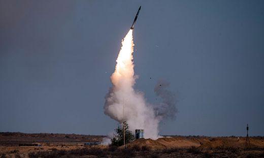 Das russische Raketenabwehrsystems S-400