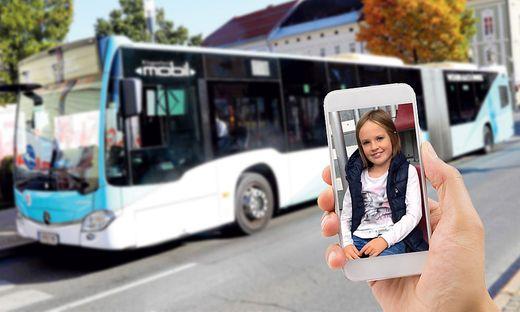 Bei der Kontrolle fand die achtjährige Hannah Steiner ihren Freifahrtausweis nicht