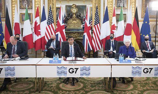 G7-Finanzminister tagen in London