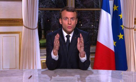 Macron will Reformtempo halten und appelliert an Europäer