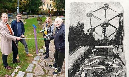 Das Ehepaar Milkowski übergibt die Anlage, welche die erste in Europa war, an die neuen Pächter