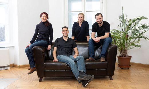 Wollen den Versicherungsmarkt weiter digitalisieren: Dani Pichler, Karl Haas, Petra Fröschl-Zückert und Sebastian Peischl