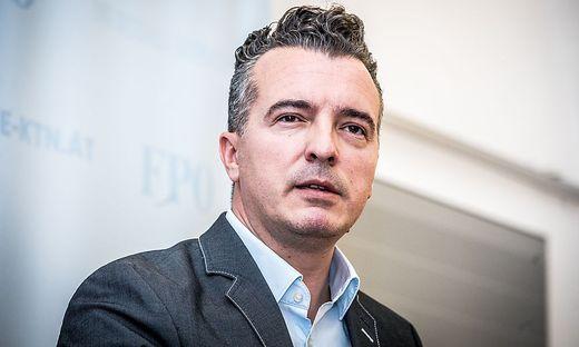 Gernot Darmann, FPÖ-Chef in Kärnten. Ministerposten schließt er nicht aus