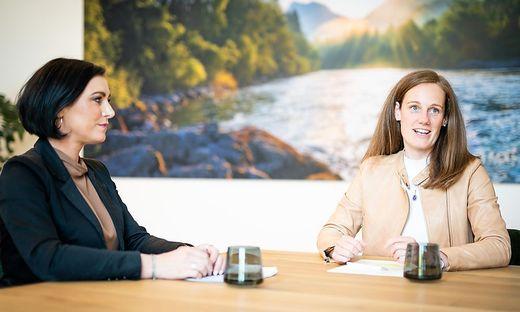 Weddig (rechts) steht seit 1. Juni an der ÖW-Spitze. Hauptfinancier ist das Ministerium von Köstinger