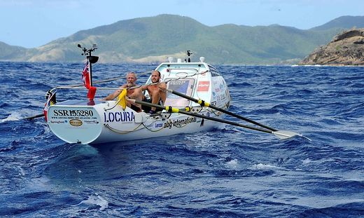 British pair win the world s toughest rowing race the Talisker Whisky Atlantic Challenge Brits Mik