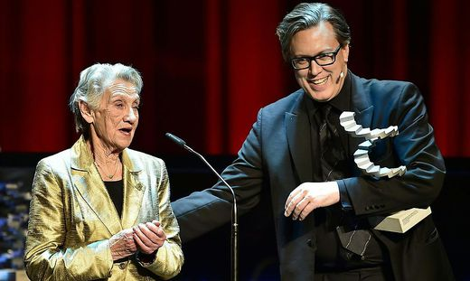 OeSTERREICHISCHER FILMPREIS 2019: INGRID BURKHARD (BESTE WEIBLICHE HAUPTROLLE IN 'DIE EINSIEDLER' )/NICHOLAS OFCZAREK