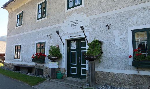 Das Franzbauernhaus in Tragöß ist ab 31. Juli wieder Scheuplatz des Kunsthandwerksmarktes
