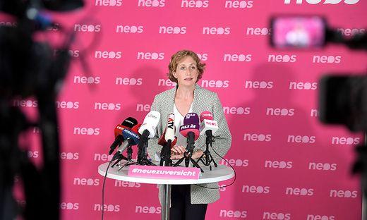 NEOS-Fraktionsführerin Stephanie Krisper