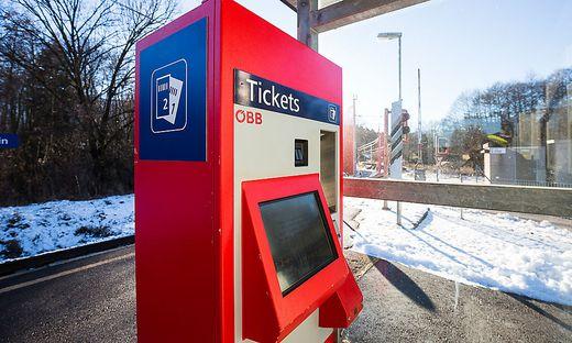 Die Ticketautomaten der ÖBB haben seit 2017 ein neues System
