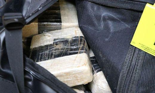 Die Drogen wurden in einem Seesack gefunden