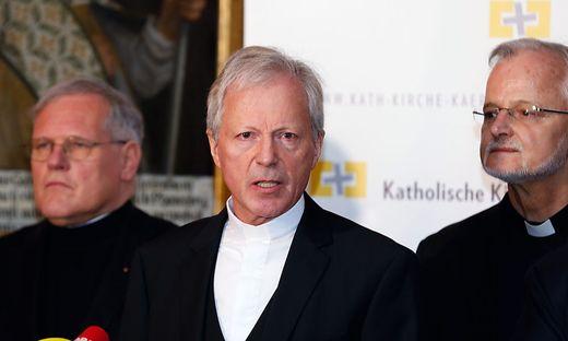 pressetermin Domkapitel kaerntner kirchenfuehrung zu Bischof schwarz den Pruefbericht und fehlleistungen
