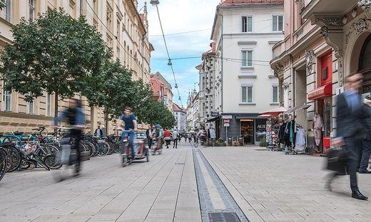 Schmiedgasse Graz Fußgängerzone