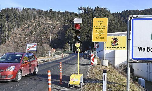 Die Draubrücke in Feistritz wird bereits ab 27. Jänner generalsaniert. 5,25 Millionen Euro fließen in das baulos