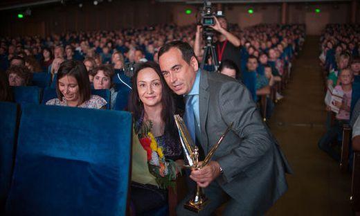 In Moskau ausgezeichnet: der russische Milliardär Roman Avdeev