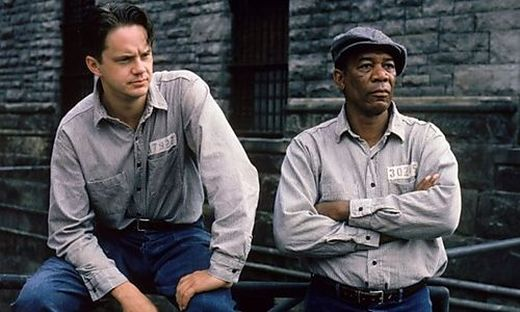 """Robbins und Freeman in """"Die Verurteilten"""""""