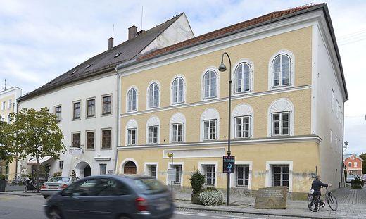Hier wurde Adolf Hitler anno 1889 geboren