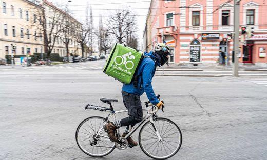 Corona bescherte den Fahrrad-Zustelldiensten wie Velofood einen Boom