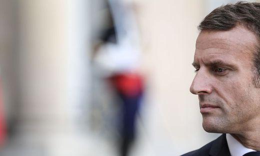 Frankreichs Präsident Emmanuel Macron will muslimische Geheimschulen - und moscheen schließen