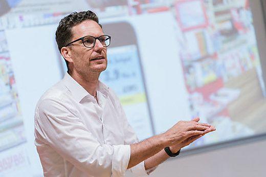 """Hans Lercher Initiator der Plattform """"Team Unternehmertum"""""""
