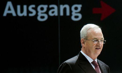 Ex-VW-Boss Martin Winterkorn