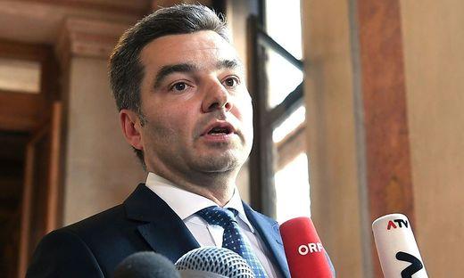 Innenminister Wolfgang Peschorn