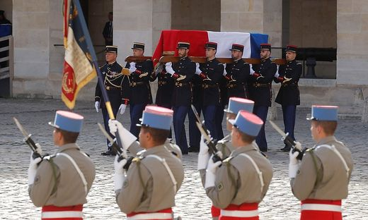 Frankreich verabschiedet sich von Jacques Chirac
