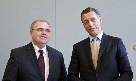 Wolfgang Brandstetter und Christian Pilnacek