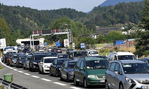 Nichts geht mehr auf der Karawankenautobahn