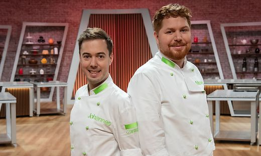 Johannes Warmuth und Michael Leiter