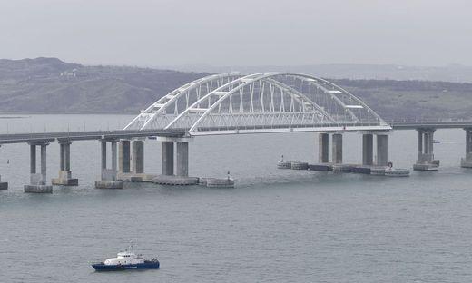 Die Brücke über die Krim ist die längste Brücke Europas